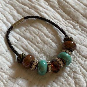 Pandora-Like Beaded Bracelet
